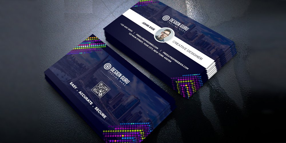 Free Business Cards PSD The Best Of Free Business Cards - Business card psd template