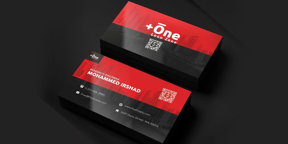Free Business Cards PSD The Best Of Free Business Cards - Graphic design business card templates