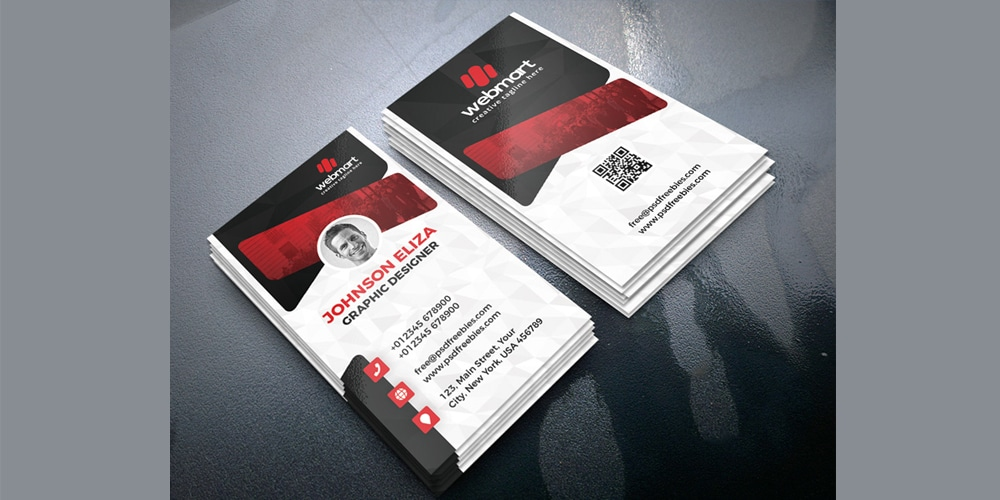 Creative Business Cards Design PSD