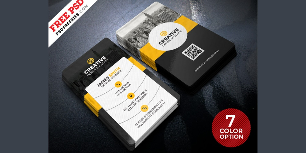 Creative Business Cards Templates PSD
