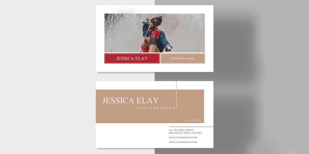 Creative Photography Business Card Template