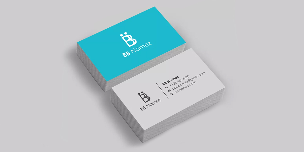 Creative Visiting Card Template PSD
