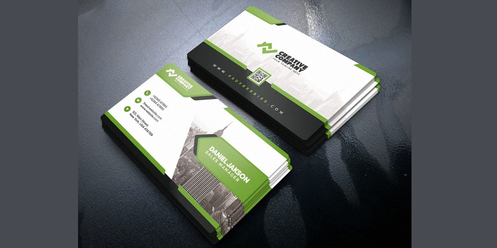 Designer Business Card Template PSD