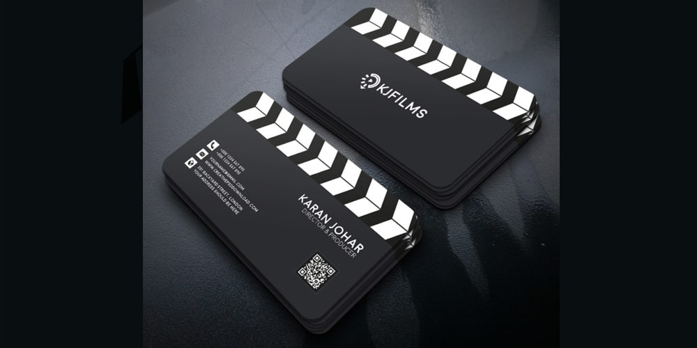 Film Clipper Business Card PSD