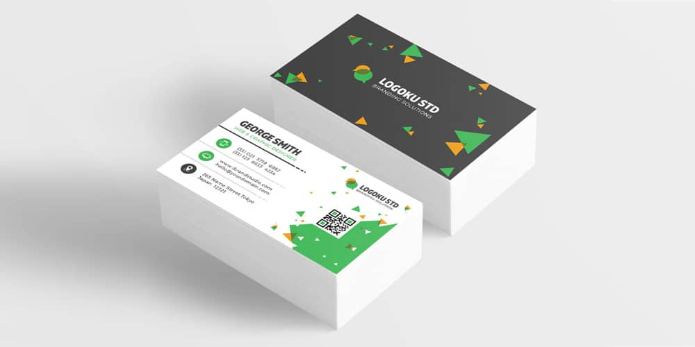 100 free business cards psd the best of free business cards free brick business card template psd flashek Gallery