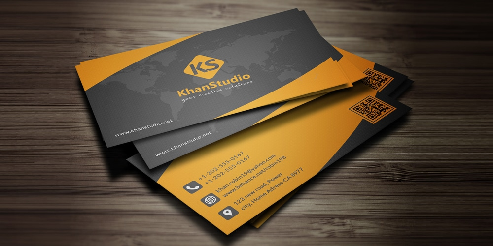 100 free business cards psd the best of free business cards free business card template psd accmission Gallery