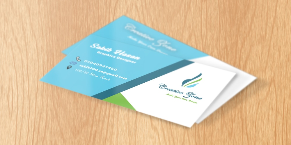 Free Business Card Template PSD