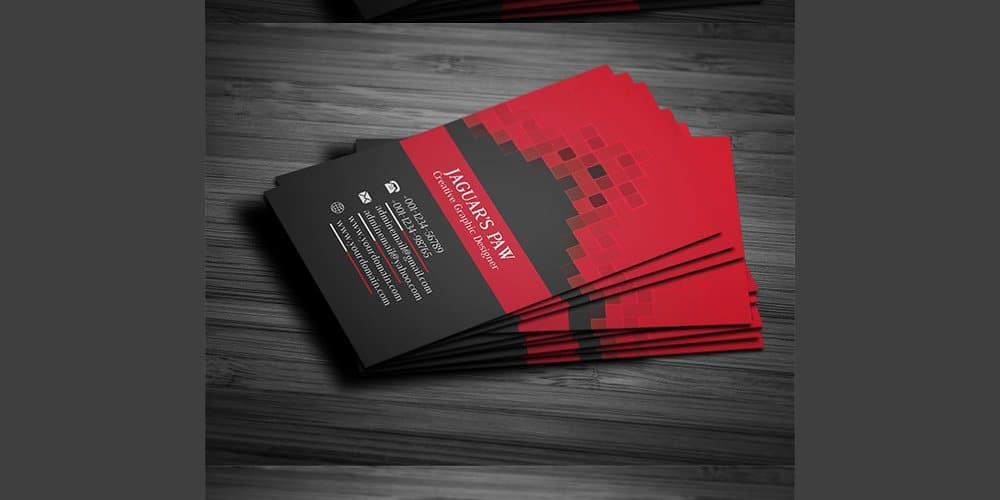 Free Business Card PSD Templates - Business card template psd