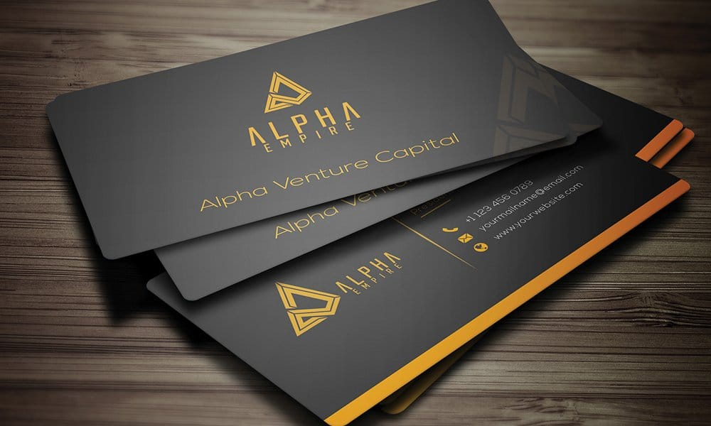 100 free business cards psd the best of free business cards for Photo business card template