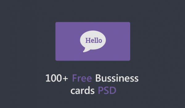 100+ Free Business Cards PSD