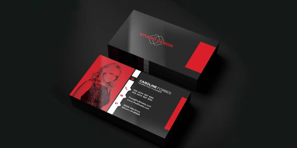 100 free business cards psd the best of free business cards free business cards templates psd wajeb Images