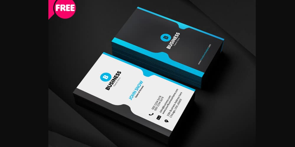 100 free business cards psd the best of free business cards free corporate business card template psd fbccfo Choice Image