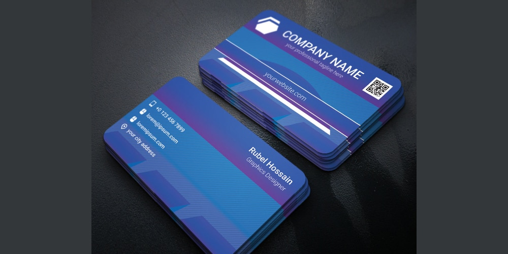 100 free business cards psd the best of free business cards free corporate business card template psd wajeb Choice Image