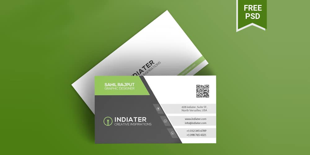 Free Creative Business Card PSD