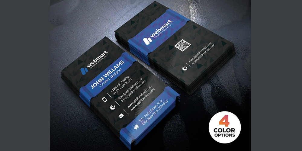Free Creative Business Card Templates PSD