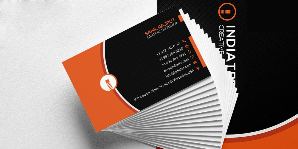 Free Creative Business Cards Design Template PSD