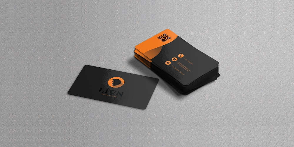 Free Glossy Business Card