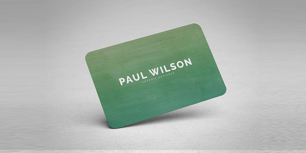 Free Graphic Design Business Card PSD