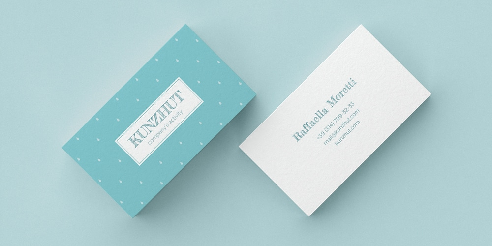 Free Kunzhut Business Card Template PSD