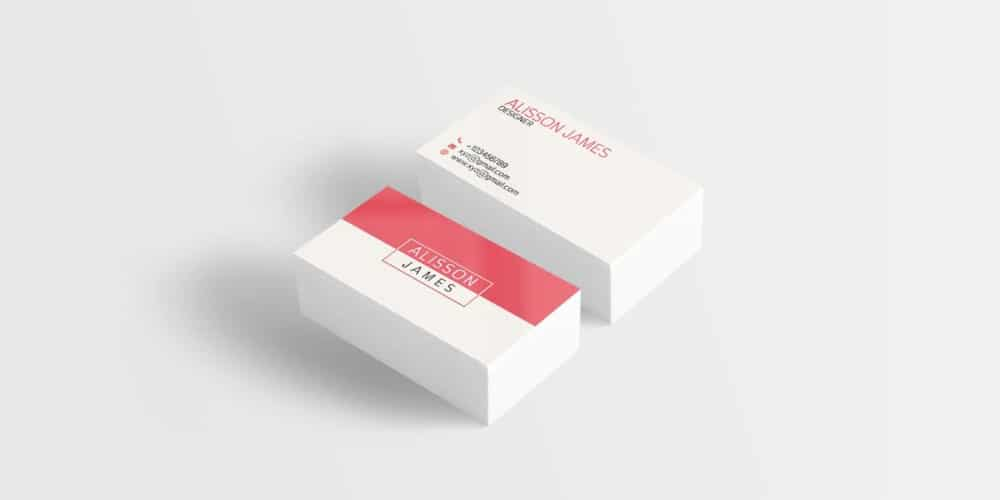 Free Minimal Business Card