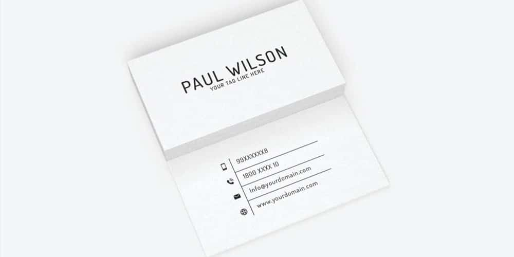 Simple business card template free minimal business card psd simple free business cards psd the best of free business cards simple business card template free reheart Choice Image