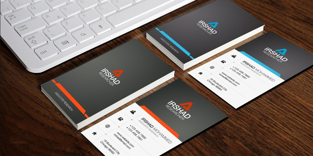 100 free business cards psd the best of free business cards free visiting cards template psd flashek Images