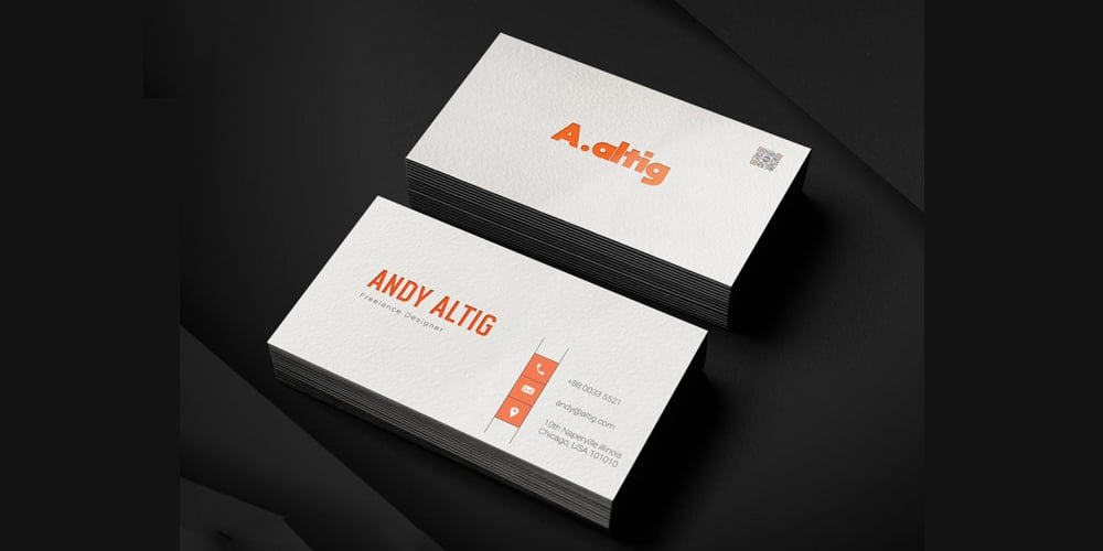 Freelance Business Card Template PSD