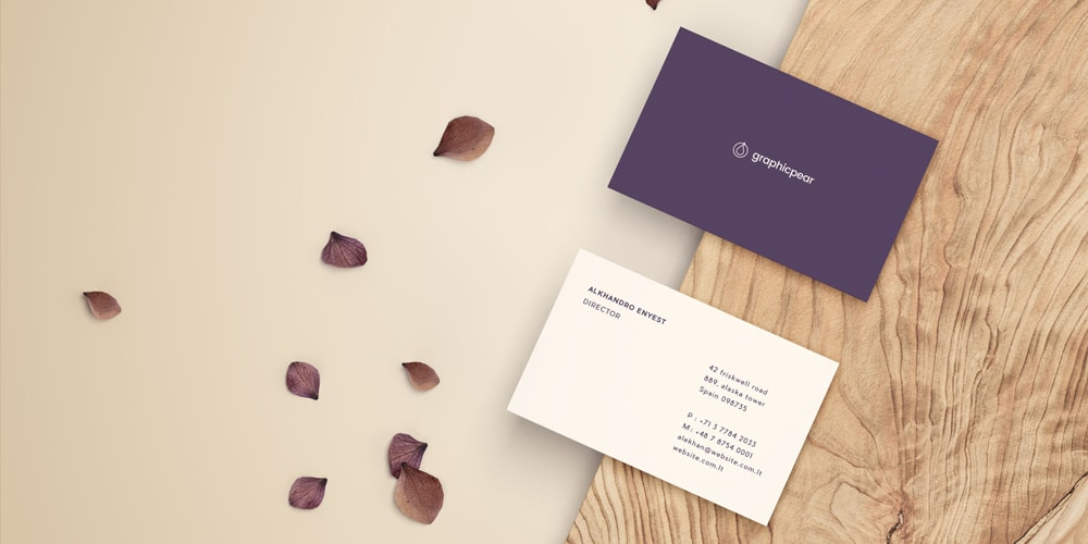 Front & Back Business Card