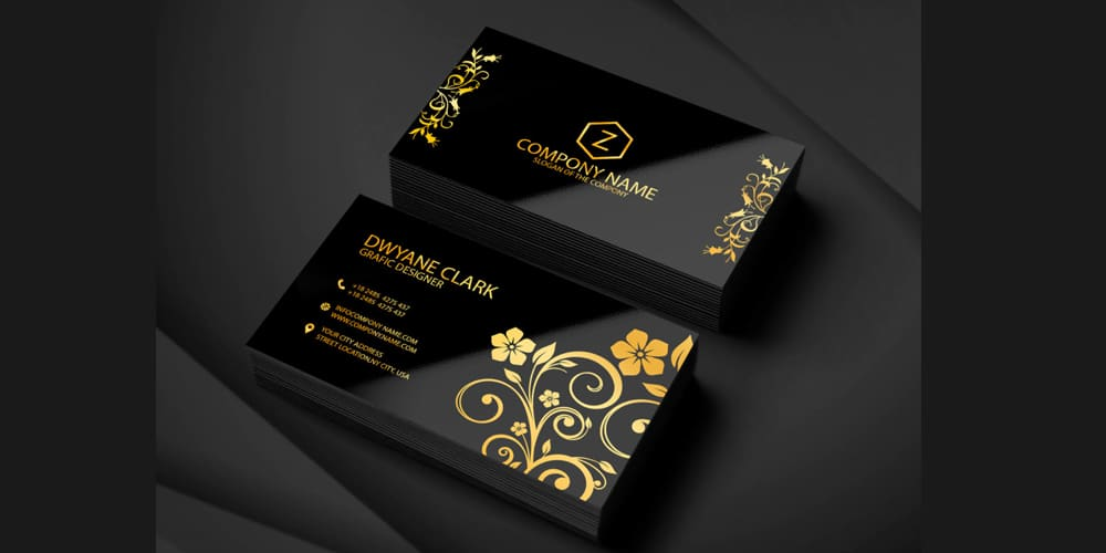 Graphic Designer Business Card Template PSD