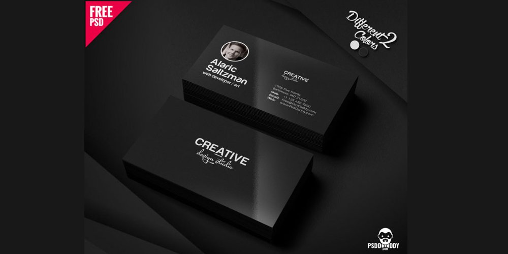Minimal Business Card Template PSD