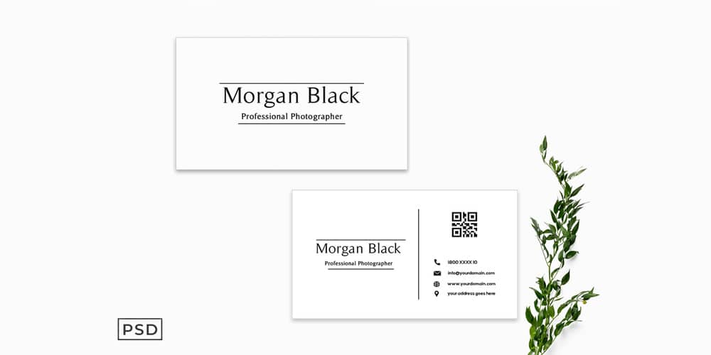 Minimal Business Card Template V2