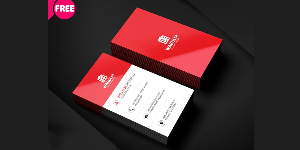Minimalistic Business Card PSD