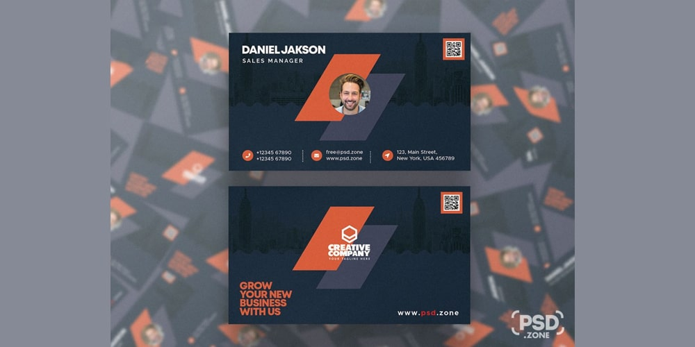 Modern Designer Business Card Template
