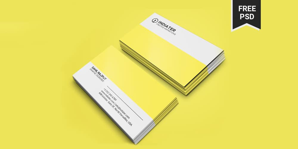 Modern Professional Business Card PSD
