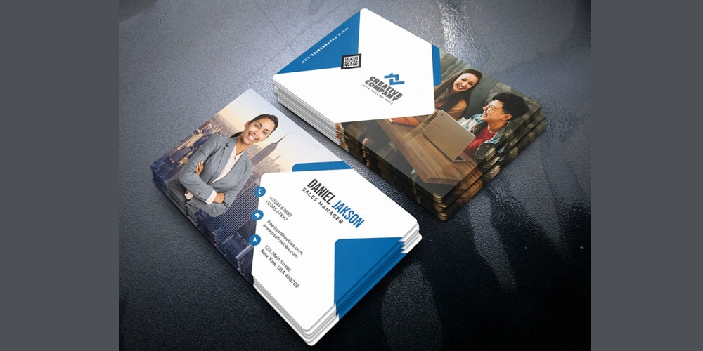 Multipurpose Corporate Business Card PSD