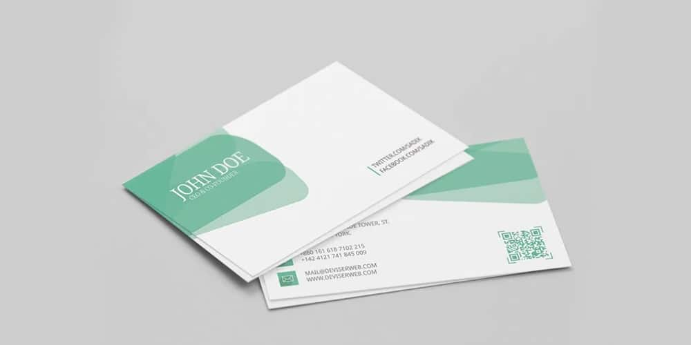 Personal Visiting Card Template PSD