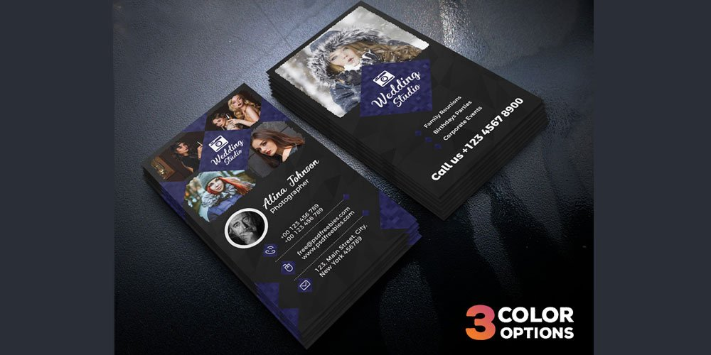 Free Business Cards PSD The Best Of Free Business Cards - Business card photoshop template