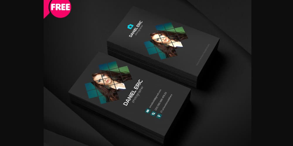 100 free business cards psd the best of free business cards photographer business card template psd cheaphphosting Gallery