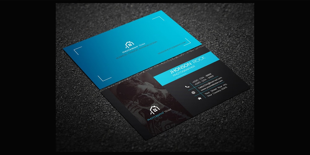 100 free business cards psd the best of free business cards photography business card template psd flashek Image collections