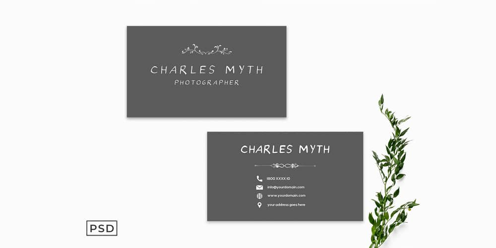 Photography Business Card Template V2