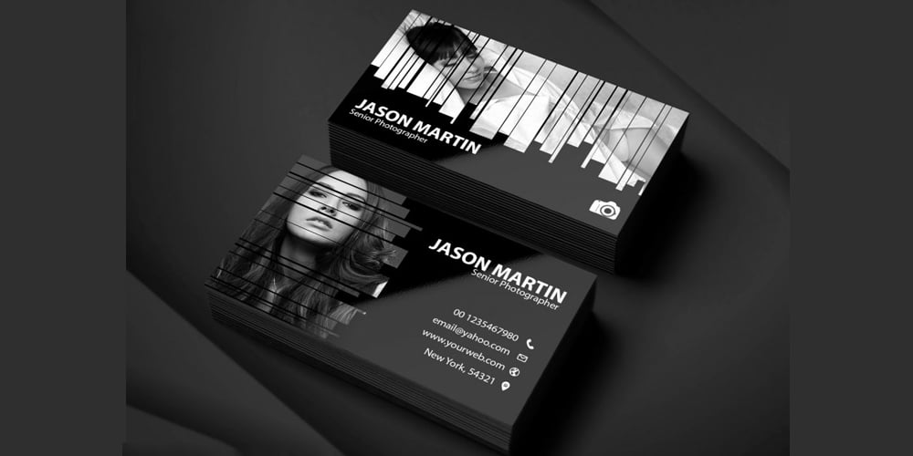 Photography Business Card PSD