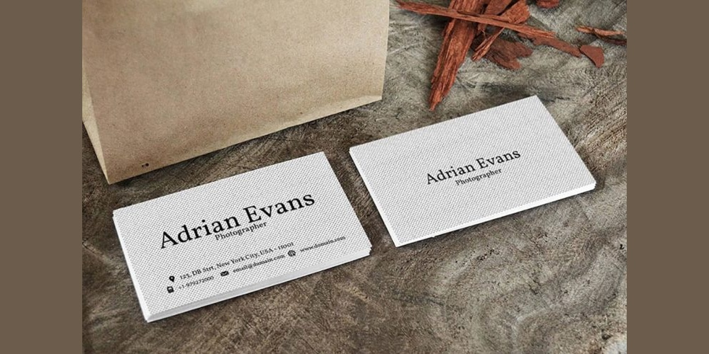 Polka Handmade Business Card