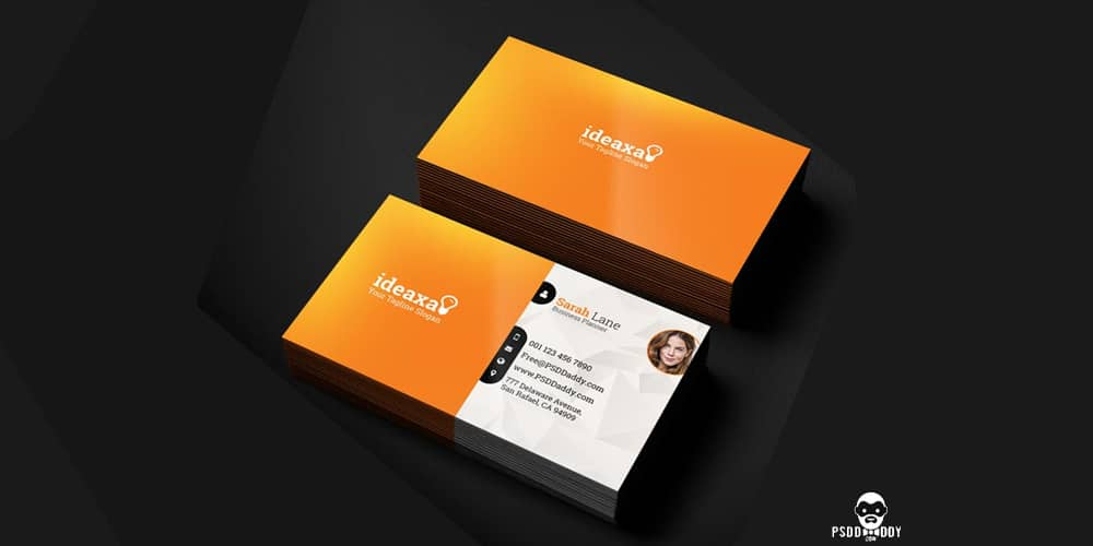 100 free business cards psd the best of free business cards premium business card templates psd reheart Gallery