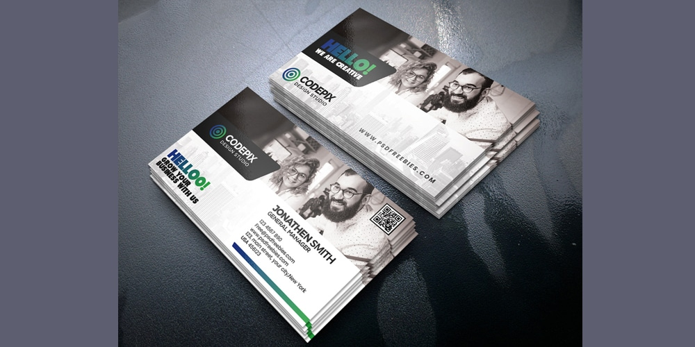 Premium Business Cards Templates PSD