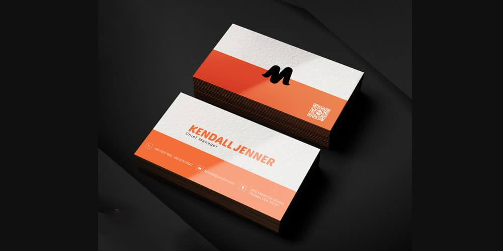 Professional Business Card Template PSD
