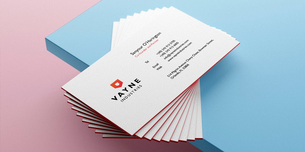 Professional and Elegant Business Card Template
