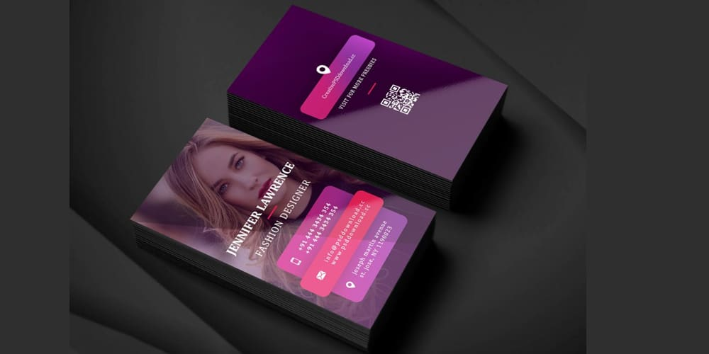Salon Business Card PSD