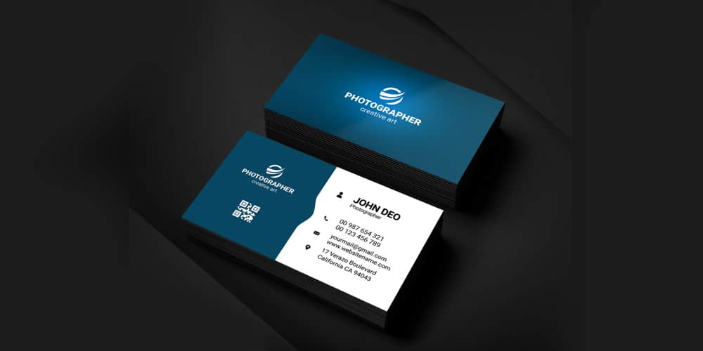 Simple Graphic Designer Busines Card