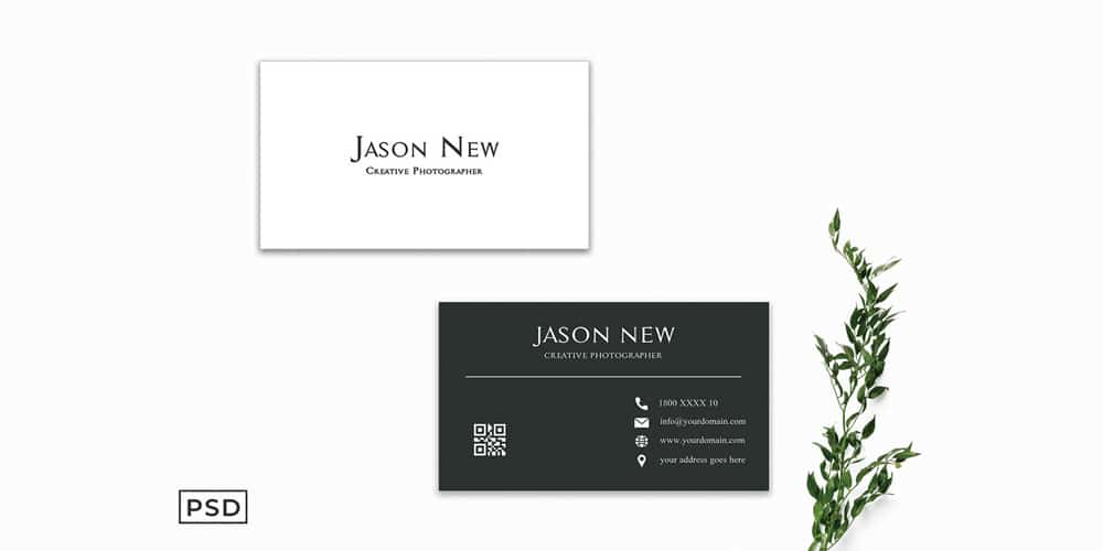 Simple Modern Business Card Template