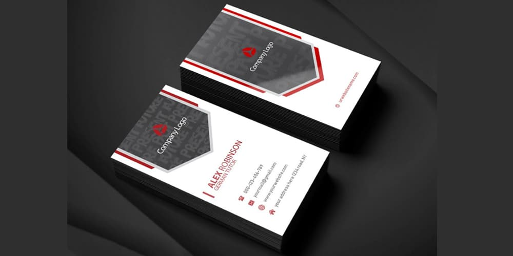 Tutor Business Card PSD